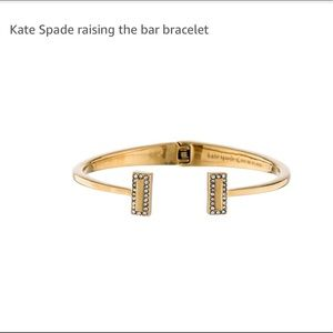 Kate Spade ♠️ Raising The Bar Hinged Cuff Bracelet